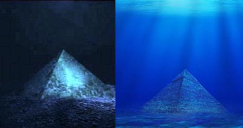 Піраміди на дні Бермудського трикутника