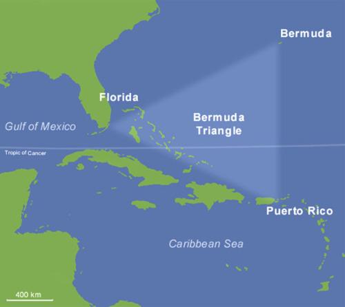 Загадковий Бермудський трикутник