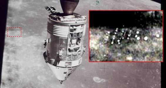 База НЛО на Місяці