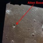 Бази прибульців на Місяці – цікаві фото
