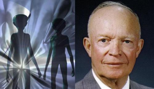 Ейзенхауер та НЛО