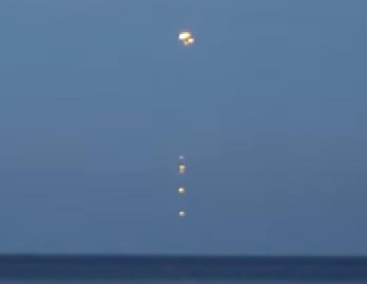 НЛО над морем