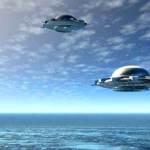 НЛО над військовими кораблями