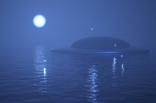 НЛО в морі