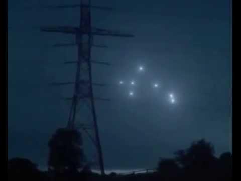 НЛО в нічному небі