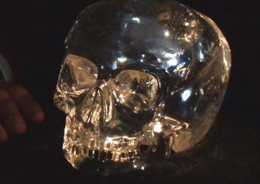 Загадковий кришталевий череп