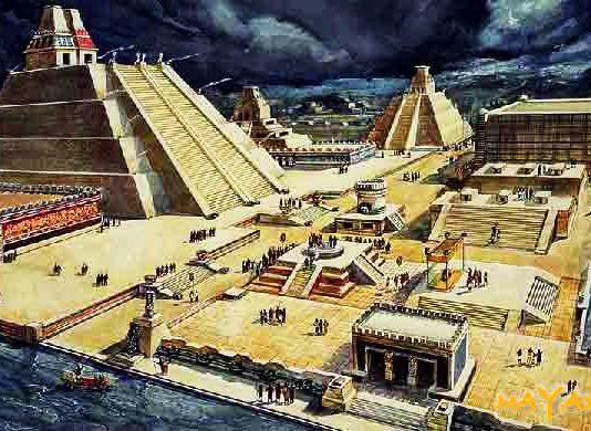 Місто ацтеків