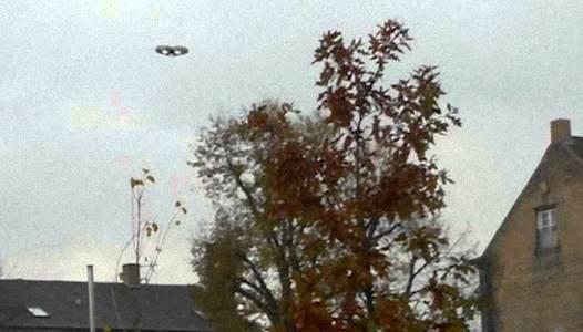 Літаюча тарілка в Данії