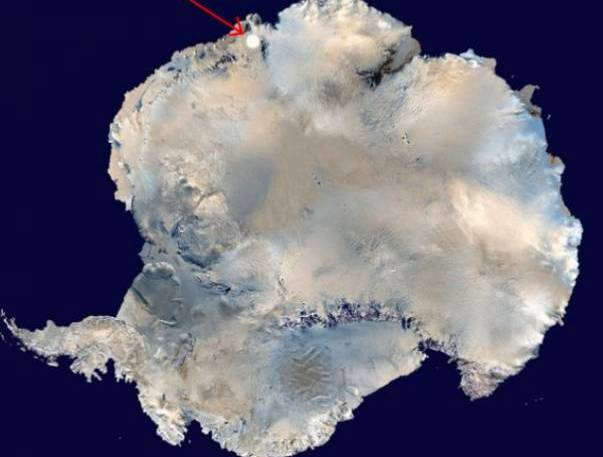Гігантський коло в Антарктиді