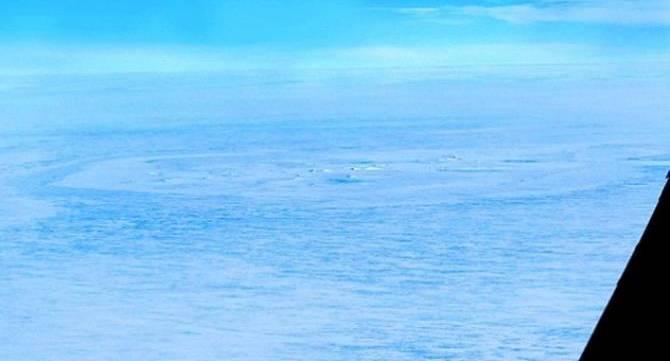 Загадкове коло в Антарктиді