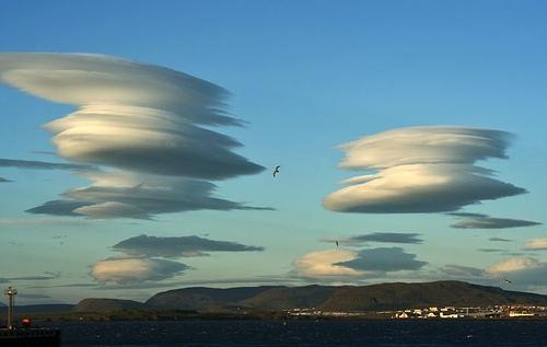 Дивні хмари в небі