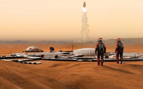 Земляни на Марсі