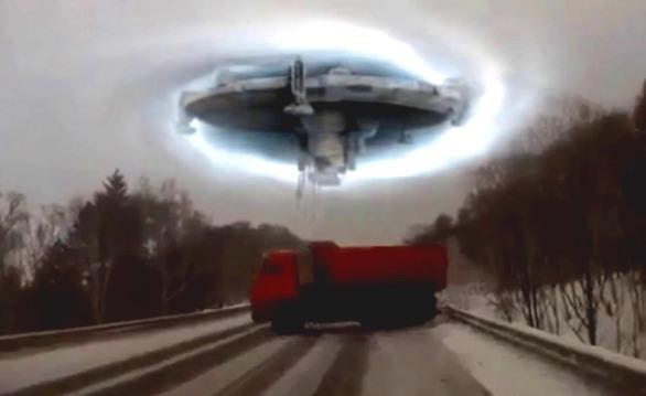 НЛО на дорозі