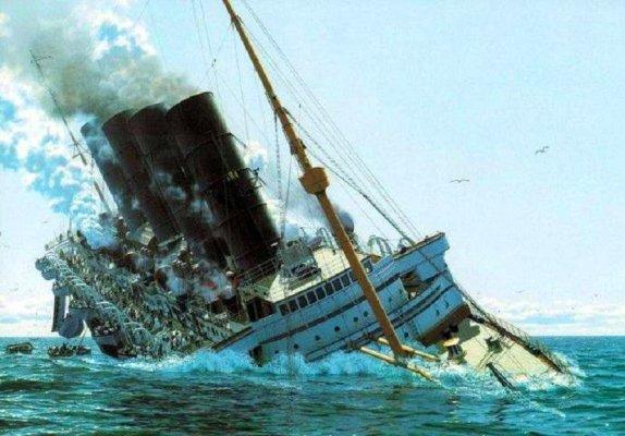 Крах корабля в Бермудському трикутнику