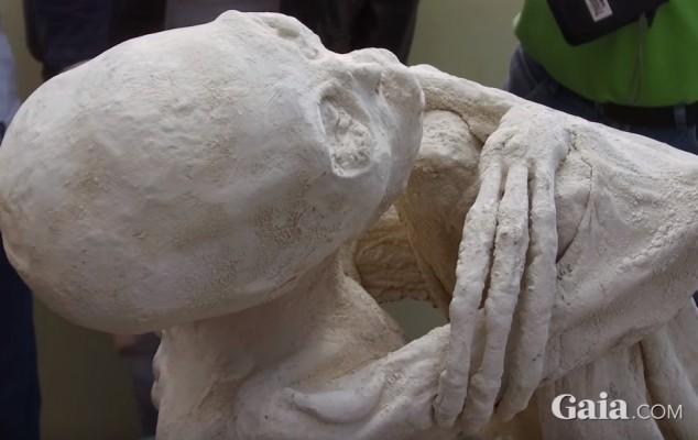 Трипала мумія в Перу