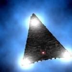 Трикутний НЛО з'явився над французьким містечком