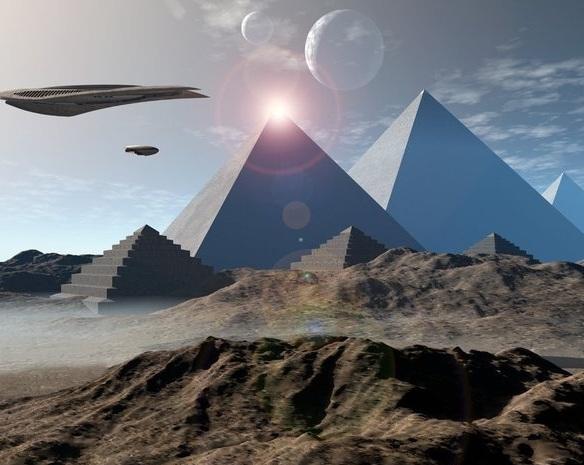 Піраміди і прибульці