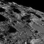 На поверхні Місяця помічений НЛО
