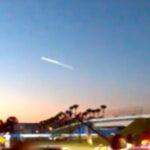 Швидкий НЛО пролетів над шведським містом